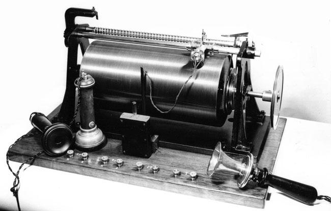 Valdemar Poulsen telegraphon recorder