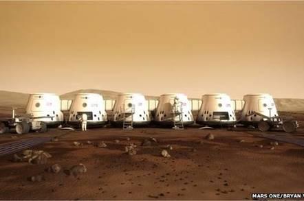 Mars One first landers