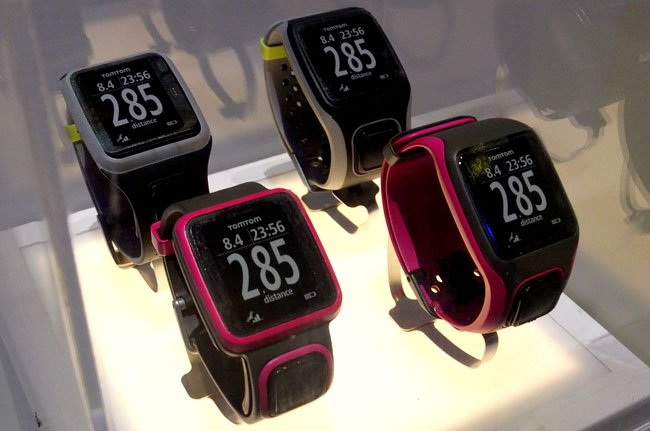 TomTom SatNav Runner and Multi-Sport watches