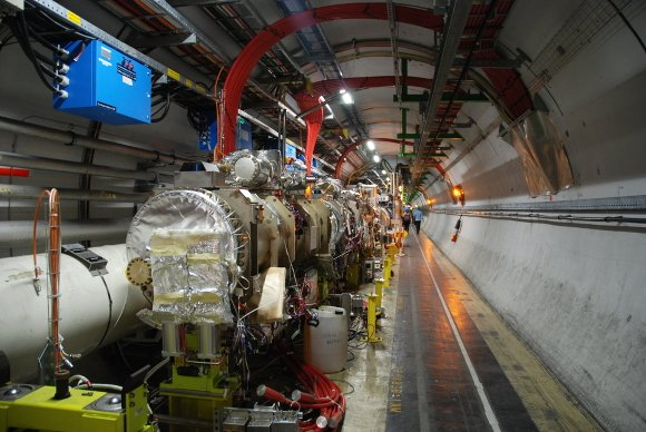 Group pulls ahead in the LHCb tunnel