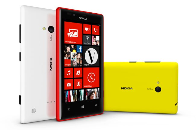 The Cortina of callers: Nokia's Lumia 720