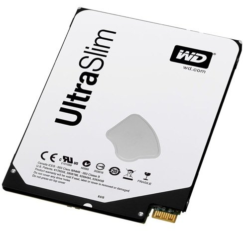 WD UltraSlim drive