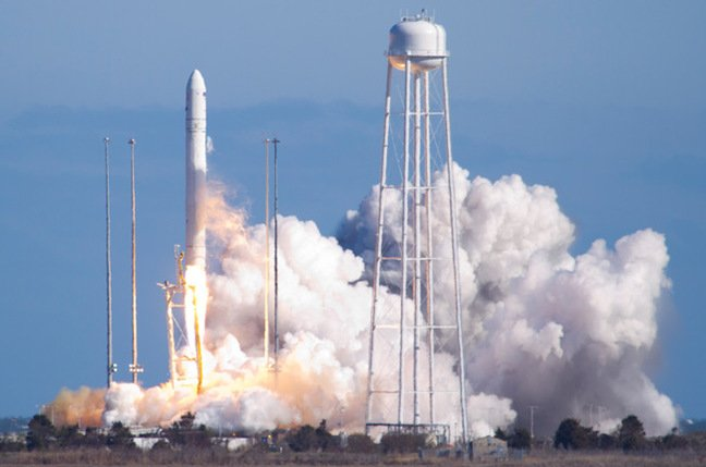 Antares launch on 21 April. Pic: NASA