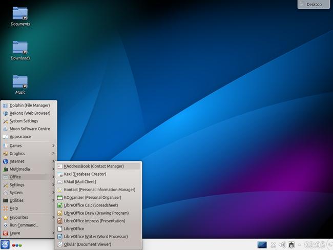 The Kbuntu Desktop2