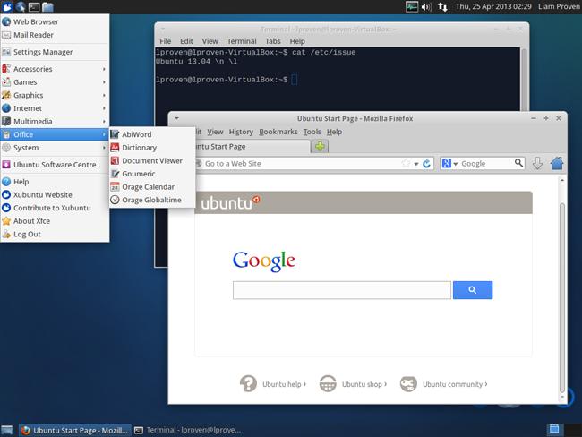 Xbuntu desktop2