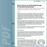 Best Practices Guide: Architecting Storage in Virtualized Environments
