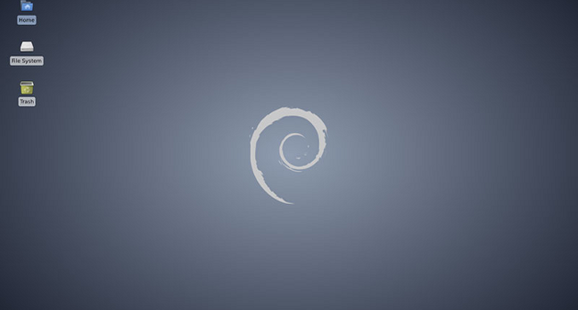 Debian 7 desktop
