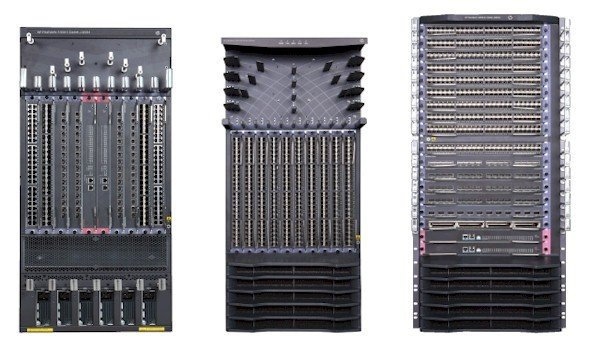 HP has three new FlexFabric modular switches: The 11900, 12910, and 12916