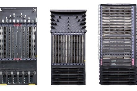 HP has three new FlexFabric modular switches: The 11908, 12910, and 12916