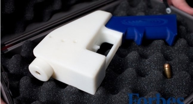 The 3D-Printed Liberator pistol
