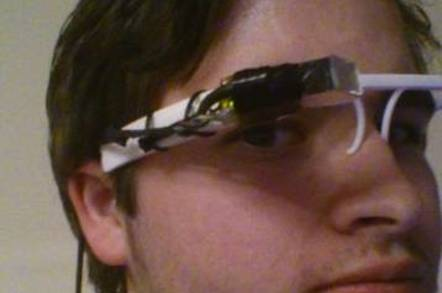 Nathan Myer's FLASS home-brew Google Glass alternative