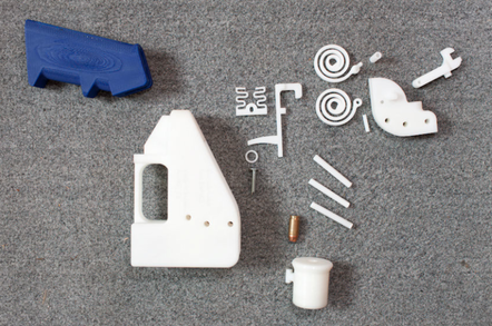 Parts for the Liberator 3D printed pistol