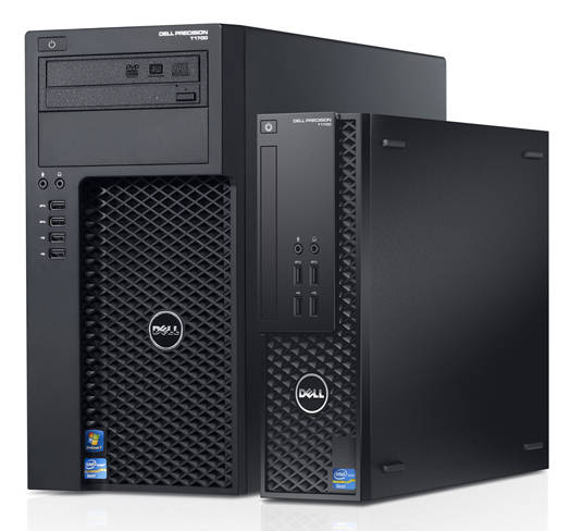 Dell Precision T1700 Mini-Tower and Small Form Factor workstations