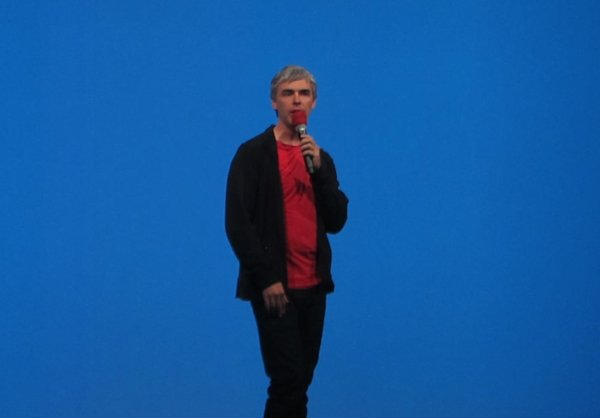 Larry Page at I/O