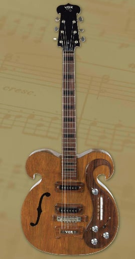 The custom Vox. Pic: Julien's Auctions