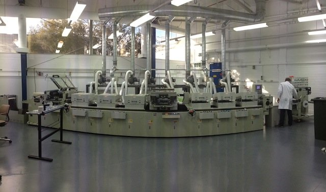 CSIRO's large-scale solar cell printer