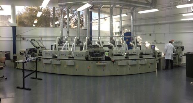CSIRO's large-scale solar cell printer