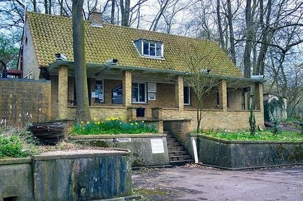 entrance to kelvedon hatch bunker. pic: ed moore