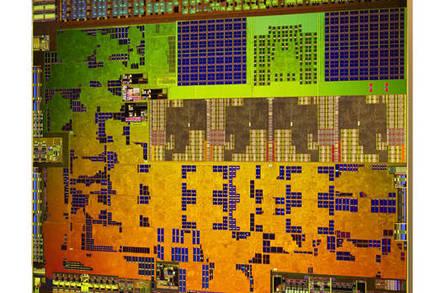 Die shot of AMD's Kabini APU