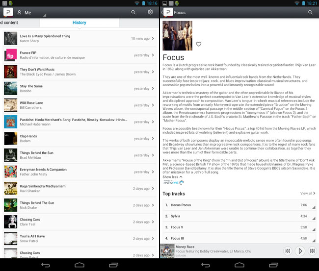 Pure Connect Android app