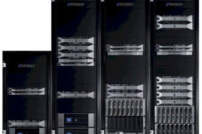 There are four sizes of Active Infrastructure stacks