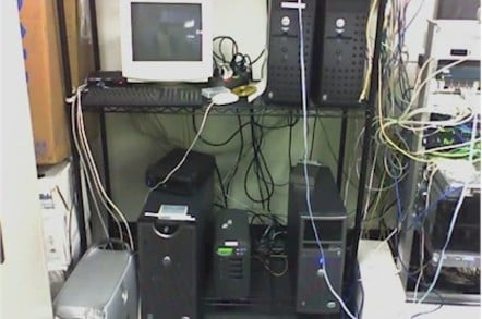 A typical branch or SMB data closet
