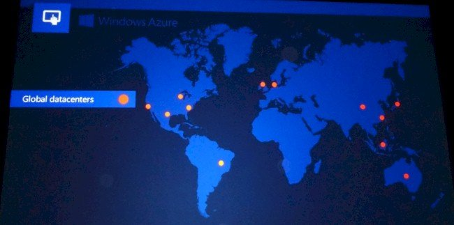 Microsoft has a dozen data centers, including one in China run by 21Vianet