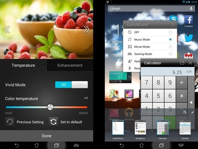 Asus FonePad Splendid app