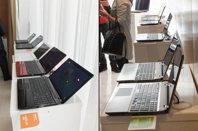 Toshiba Satellite series laptops