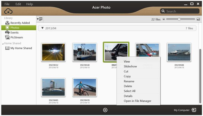 Acer Aspire P3 Ultrabook AcerCloud
