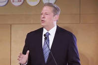 Al Gore at Google's 'How Green is the Internet? Summit'
