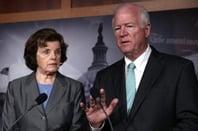 Senators Dianne Feinstein (D-CA) and Saxby Chambliss (R-GA)