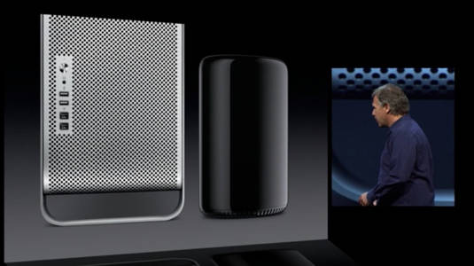 Apple's next Mac Pro sitting next to the existing Mac Pro model