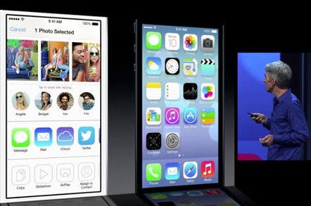 Shared photo stream in iOS 7
