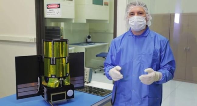 The Arkyd 100 satellite