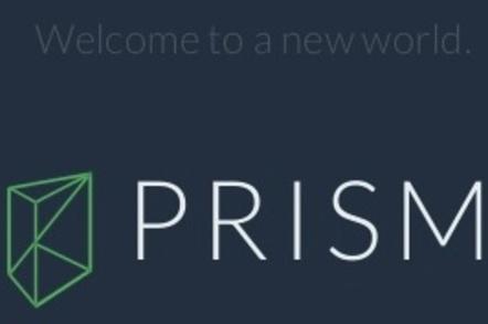Emiland De Cubber's alternative PRISM logo