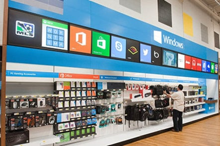 Photo of a Windows Store at a Best Buy location