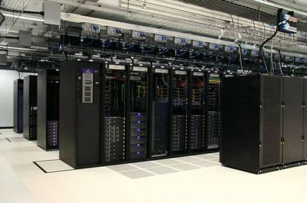 Racks inside Rackspace's Sydney Data Centre