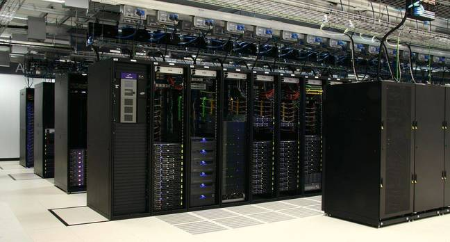 Racks inside Rackspace's Sydney Data Centre