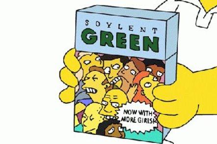 soylent green - SIMPSONS - copyright 20TH CENTURY FOX FILM CORP.