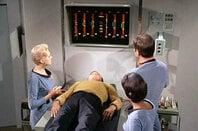 Photo of the Starship Enterprise's sick bay