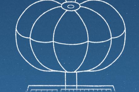 Google Loon balloon envelope