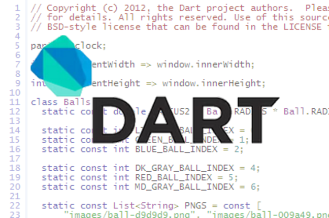 Dart programming language