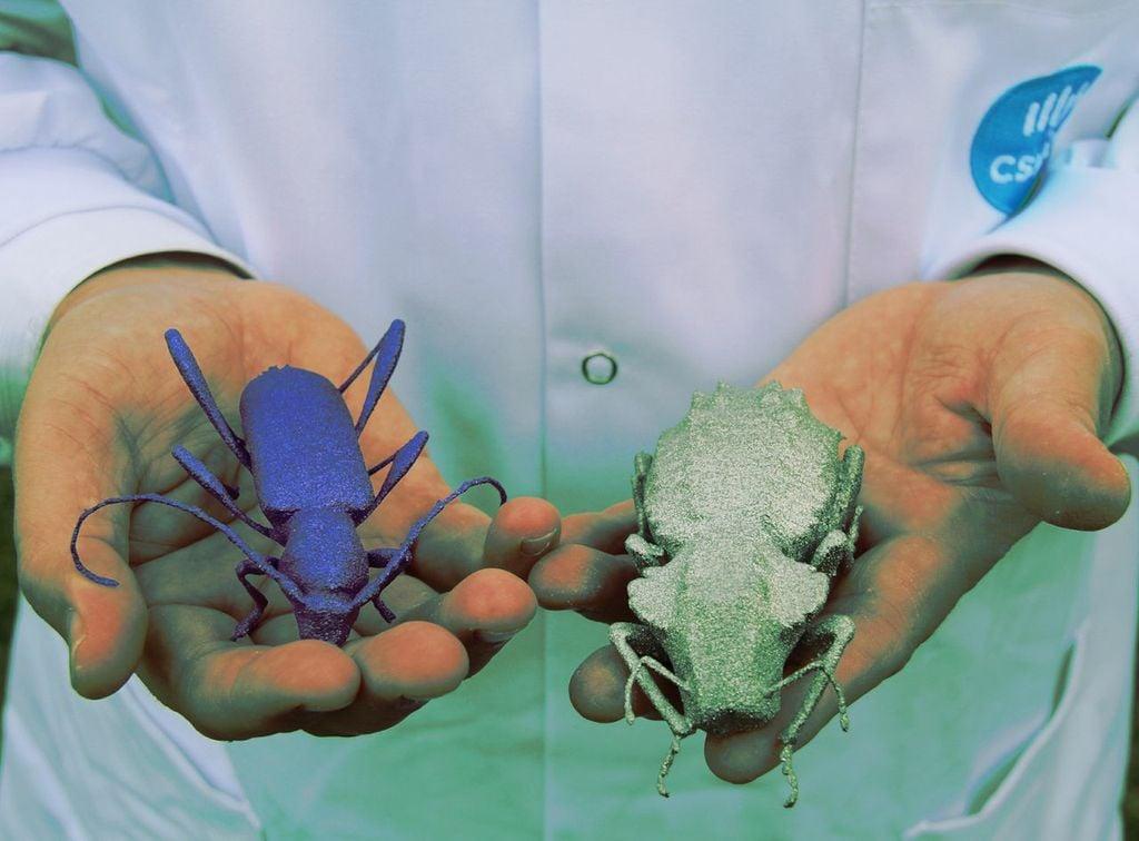 CSIRO's giant titanium bugs