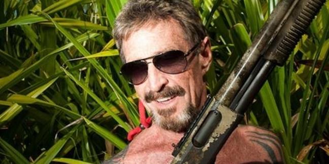 John McAffee with shotgun