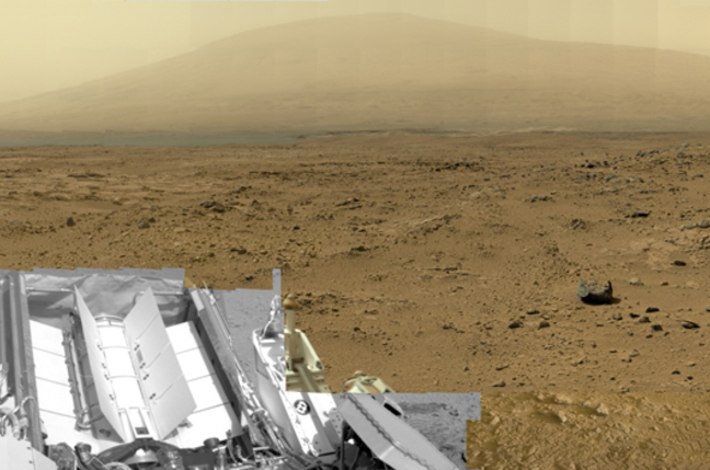 Curiosity Billion Pixel Image