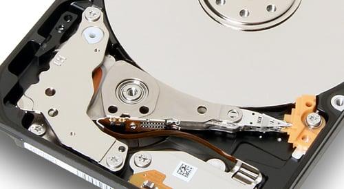 Toshiba 7mm hybrid disk drive slider