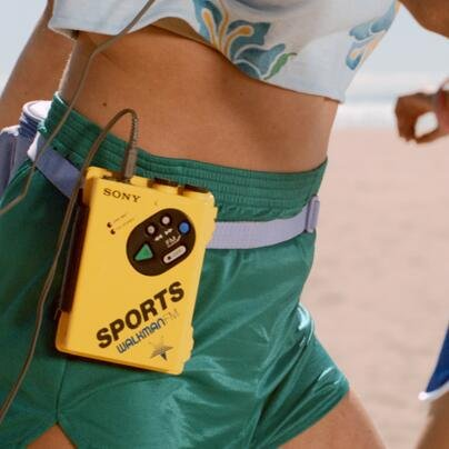 Sony Walkman Sport tweet pic