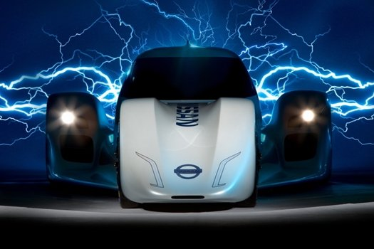 Nissan ZEOD electric promo shot