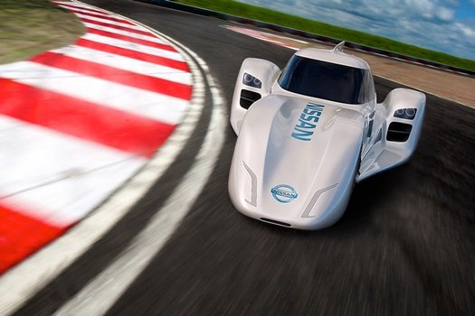Nissan's ZEOD RC electric car